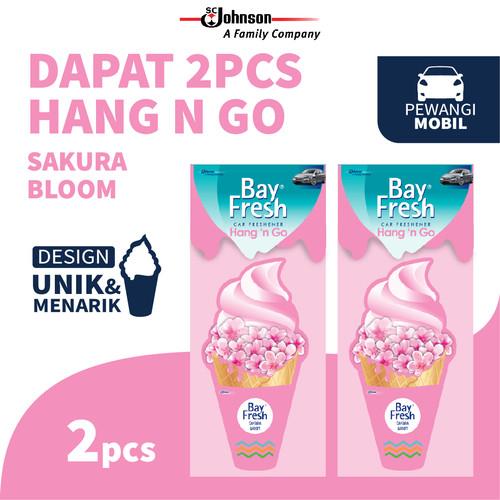 Foto Produk [Twin Pack] Bayfresh Hang N' Go Sakura Bloom dari SC Johnson & Son ID