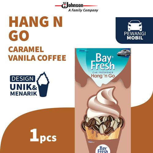 Foto Produk Bayfresh Hang N' Go Caramel Vanilla Coffee dari SC Johnson & Son ID
