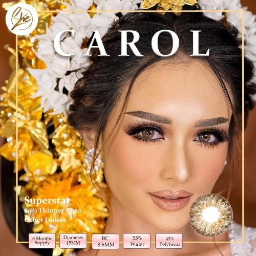 Foto Produk Superstar Carol Softlens Warna Premium - Normal dari Shesoftlens