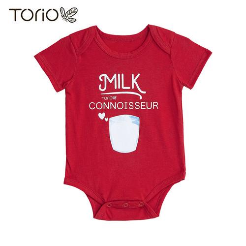 Foto Produk Torio Milk Connoisseur Romper Bodysuit Onesie Baju Bayi Pakaian Bayi - 12-18 Bulan dari Torio