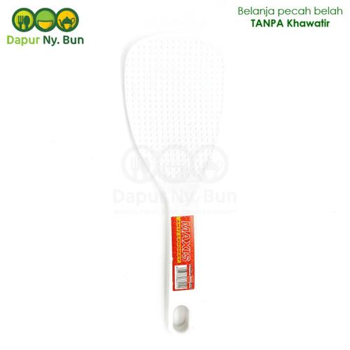 Foto Produk Centong Nasi Plastik Maxis Premium Red Box Warna Putih dari Dapur Ny.Bun