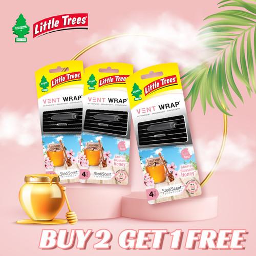 Foto Produk Little Trees Cherry Blossom Honey Vent Wrap (Buy 2 Get 1 Free) dari LITTLE TREES INDONESIA