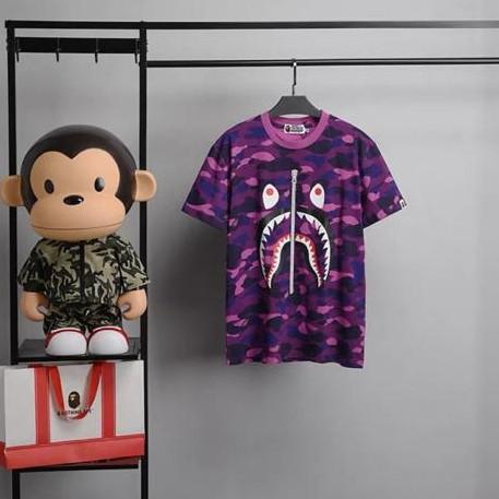 Foto Produk Kaos Anak Laki - Laki Bape Premium Quality - Ungu, 140 ( 7-8y ) dari So-Cute