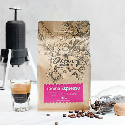 Foto Produk Otten Coffee Crema Espresso 500 gram Kopi | Espresso Blend Best Seller - Wholebean dari Otten Coffee Jakarta