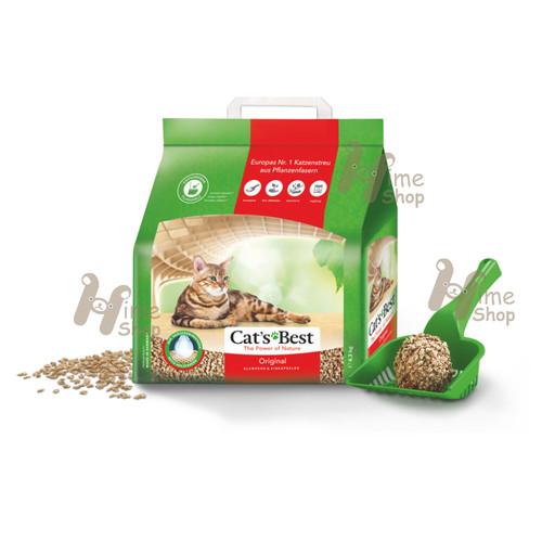 Foto Produk Cats Best Original 4.3kg Litter Bedding Rabbit Guinea Pig Hamster dari Hime petshop