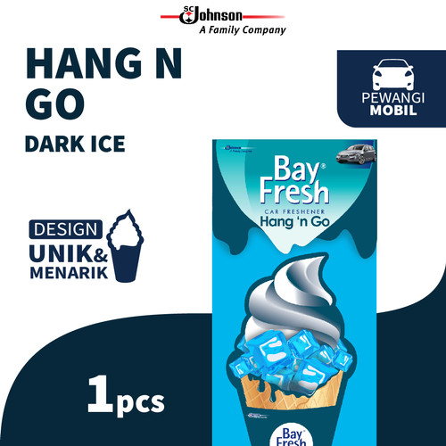 Foto Produk Bayfresh Hang N' Go Dark Ice dari SC Johnson & Son ID