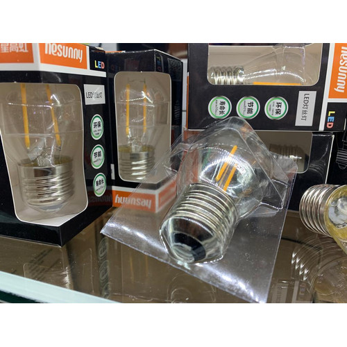 Foto Produk LAMPU LED FILAMEN 2W 3W 4W BOHLAM PICEK EDISON CAFE G45 ST64 - 3 Watt - 2 Watt dari NcSupplierLed