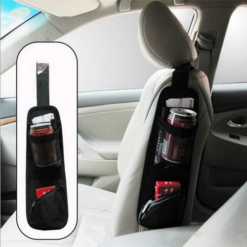 Foto Produk JFactory Organizer Tas Gantung Kursi Mobil Tempat Botol dan Makanan dari jusjeruk