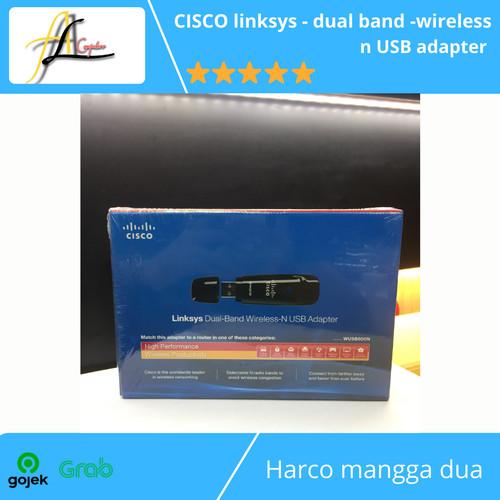 Foto Produk CISCO linksys - dual band -wireless n USB adapter dari AL computerr