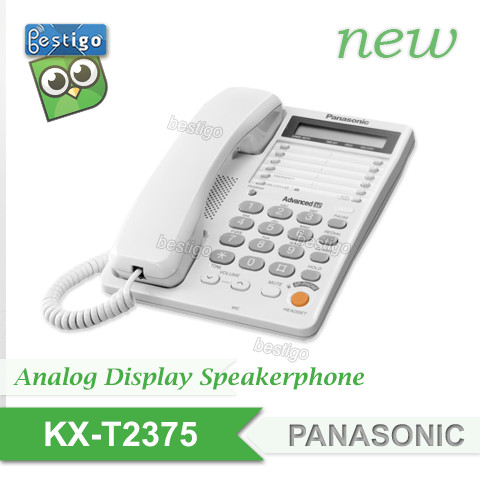 Foto Produk Telepon Panasonic Tipe KX-T2375 New dari BESTIGO PABX TELEPON