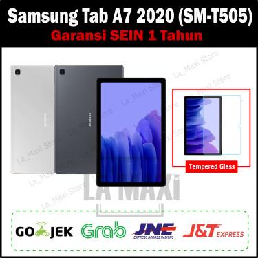 Foto Produk Samsung Galaxy Tab A7 Tab A 7 2020 T505 10.4 inch 3/32GB Garansi SEIN - Silver dari La_Maxi Store