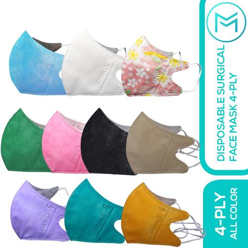 Foto Produk Masker 4ply Duckbill Mix 10 Warna Maskit Earloop & Tali Hijab - Earloop dari Maskit Store