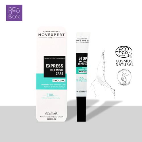 Foto Produk Novexpert Trio-Zinc Express Blemish Care 7ml dari Beauty Box Official