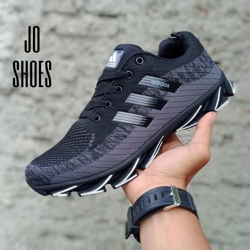 Foto Produk SEPATU ADIDAS SPRING BLADE IMPOR SPORT RUNING - BLACK, 40 dari jo shoes