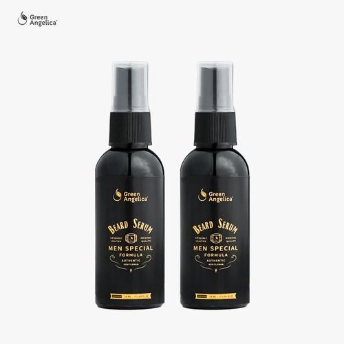 Foto Produk Green Angelica Beard Serum - Penumbuh Jambang 50ml x 2 Botol dari GreenAngelica Official