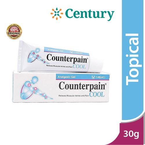 Foto Produk Counterpain Cool 30Gr / Keseleo / Memar / Nyeri Otot /Nyeri Sendi dari CENTURY HEALTHCARE