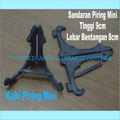 Foto Produk Sandaran piring hias / kaki piring pajangan Mini ( Tinggi 9cm ) dari Tulip'S Keramik