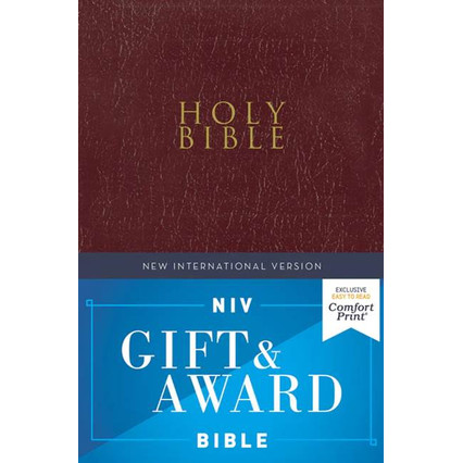 Foto Produk NIV Holy Bible Gift & Award Bible - Burgundy dari lilinkecil