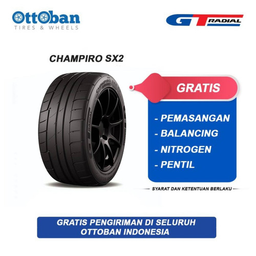 Foto Produk GT Radial Champiro SX2 265/35 R18 97W Ban Mobil dari ottoban indonesia