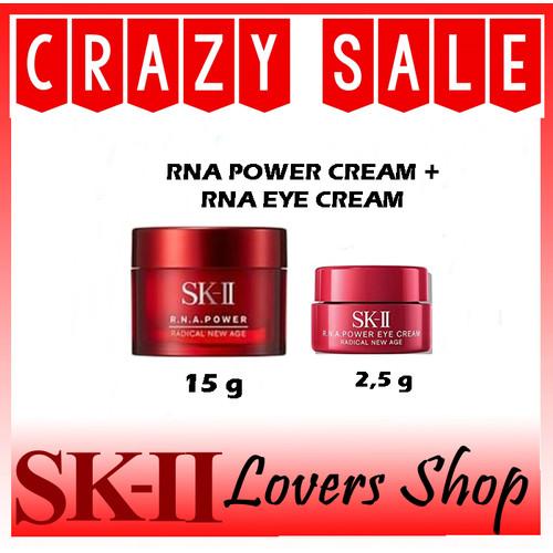 Foto Produk SK-II/SK2/SKII/SK II SET RNA POWER CREAM 15 G + RNA EYE CRESAM 2,5 G dari SK-II LOVERS SHOP
