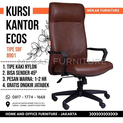 Foto Produk Kursi Kantor Kursi Kerja ECOS SBF 8901 - Mekar Furniture - Coco dari Mekar Furniture