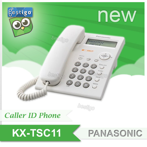 Foto Produk KX-TSC11 Telepon Caller ID Panasonic dari BESTIGO PABX TELEPON
