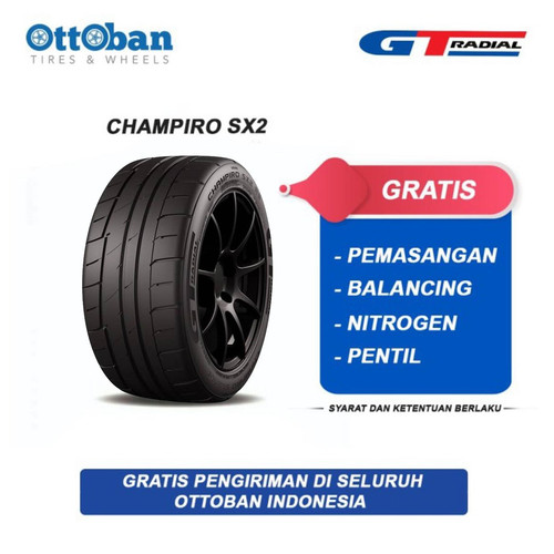 Foto Produk GT Radial Champiro SX2 225 50 R16 92V Ban Mobil dari ottoban indonesia