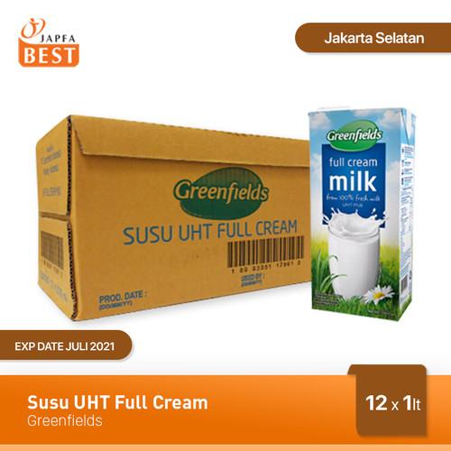 Foto Produk Susu UHT Full Cream Greenfields [12 Pcs x 1 Liter] dari Japfa Best Jakarta