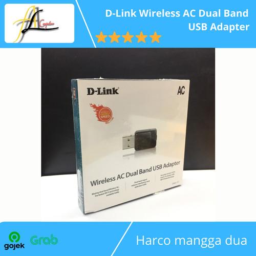 Foto Produk D-Link Wireless AC Dual Band USB Adapter dari AL computerr