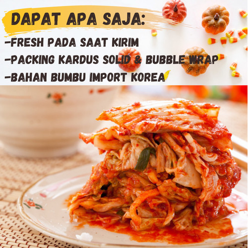 Foto Produk kimchi original Kimci / Kimchi non alkohol / Kimchi halal 1kg dari dapursakinahku