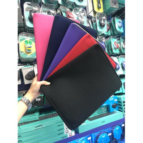 "Foto Produk Softcase laptop 14 inch sleeve case tas notebook 14"" inci - Biru dari Click & Go"