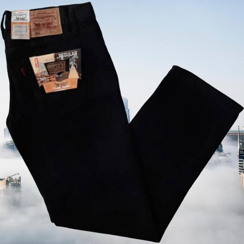 Foto Produk Celana jeans standart pria no straight 28-38 - Hitam, 31 dari DAVROS STORE