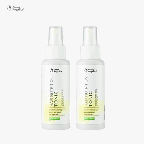 Foto Produk Penumbuh Rambut Terbaik 100ml - Green Angelica Hair Tonic x 2 Botol dari GreenAngelica Official