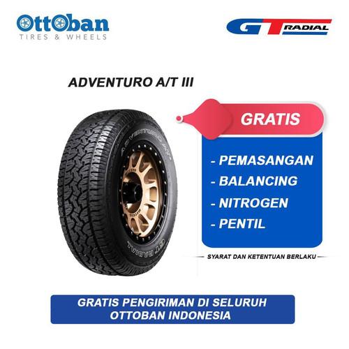 Foto Produk GT Radial Adventuro AT3 P 265 70 R17 113T Ban Mobil dari ottoban indonesia