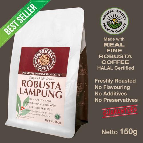 Foto Produk Robusta Lampung/ robusta/ premium/kopi bubuk dari MURRELL COFFEE ROASTERS