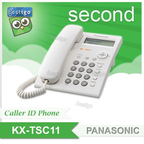 Foto Produk Telepon Single Line Analog Panasonic Tipe KX-TSC11MX Second dari BESTIGO PABX TELEPON