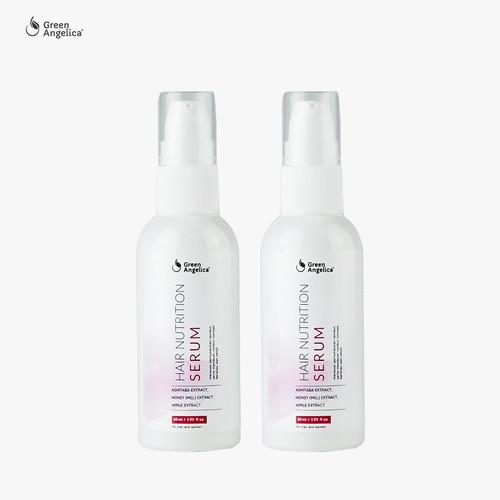 Foto Produk Vitamin Rambut Rusak dan Rontok - Green Angelica Hair Serum 60ml x 2 dari GreenAngelica Official