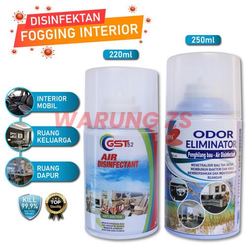 Foto Produk Disinfektan Fogging Interior Mobil GST52 ANTI VIRUS & BAKTERI - ZONE dari warung zs