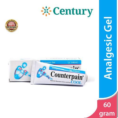 Foto Produk Counterpain Cool 60Gr / Keseleo / Memar / Nyeri Otot /Nyeri Sendi dari CENTURY HEALTHCARE