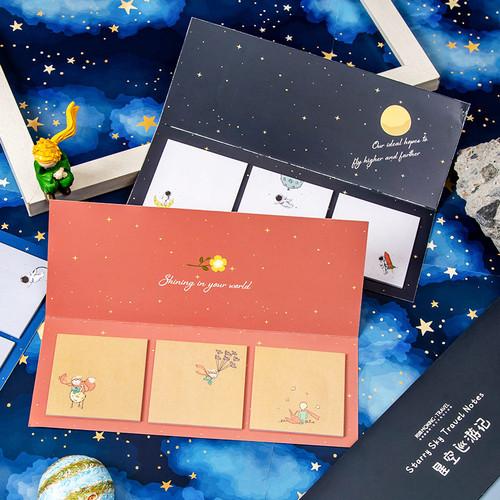 Foto Produk Little Prince Series Sticky Notes Set - Catatan Tempel - Kertas Notes dari Pinkabulous