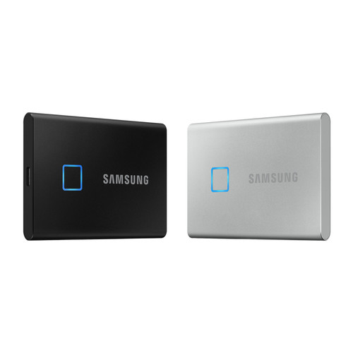 Foto Produk SSD Samsung T7 500gb Touch External T-7 500 gb Solid State Drive dari PojokITcom Pusat IT Comp