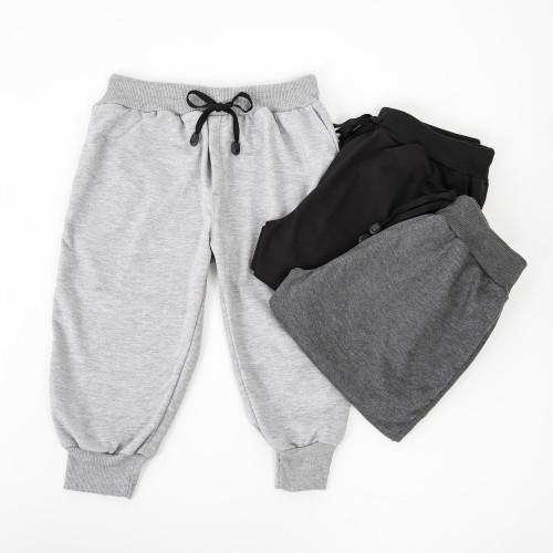 Foto Produk Semi Jogger Pants (Abu Muda) - L dari Arsenio Apparel Store