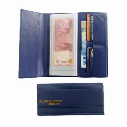 Foto Produk Dompet Pintar Wallet Organizer Pengatur Keuangan Bulanan - Biru dari shohiby store