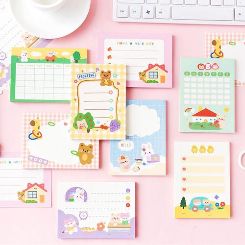 Foto Produk Happy Forever Day Planning Memopad - Kertas Catatan - Memo dari Pinkabulous
