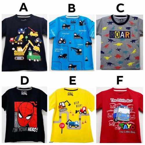 Foto Produk Kaos Anak Cowok motif karakter size 7-10 (7-10 tahun) dari servia shop