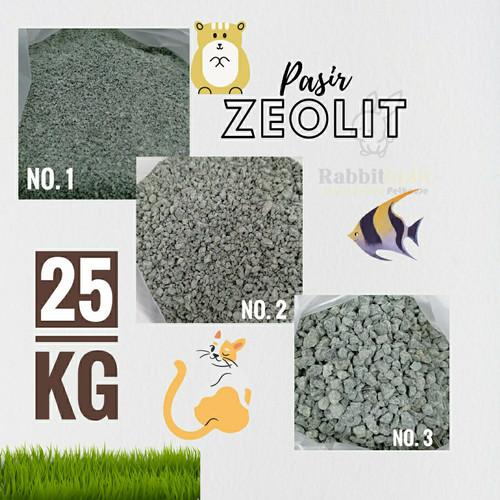 Foto Produk Pasir Kucing Zeolit 25 kg Zeolite Cat Sand no 1 2 3 - No 3 dari Rabbitholic Gading Serpong