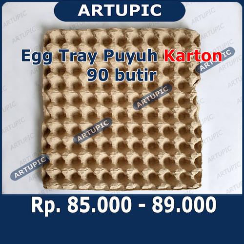 Foto Produk Egg Tray Puyuh KARTON Kertas kardus rak Tempat Telur Telor puyuh 70 le dari ArtupicPeralatanPeternak