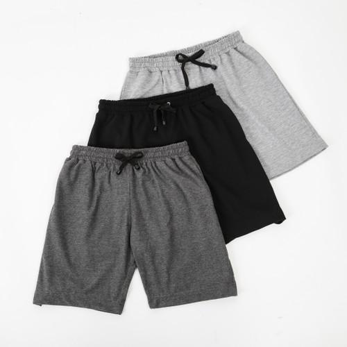 Foto Produk Shortpants Series (Abu Tua) - L dari Arsenio Apparel Store