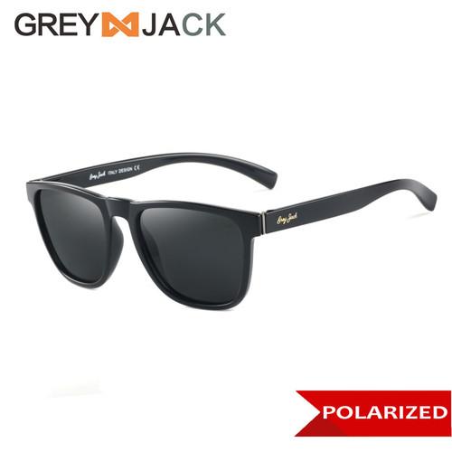 Foto Produk Grey Jack/ Kacamata Hitam Pria dan Wanita / Sunglasses /1226 - Hitam Glossy dari Grey Jack