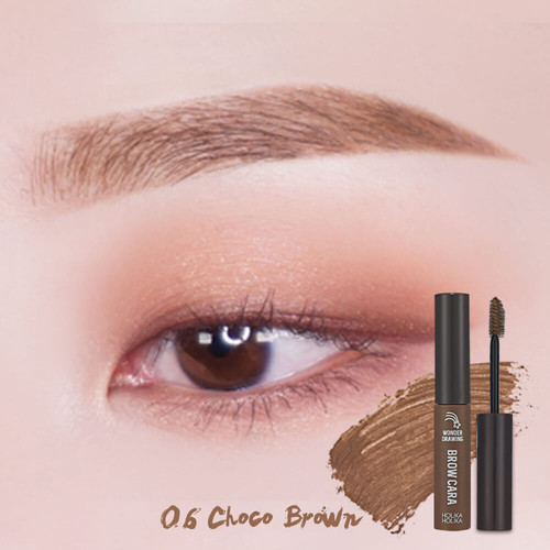 Foto Produk Holika Holika Wonder Drawing 1 sec. Finish Browcara - Choco Brown dari Holika Holika Indonesia